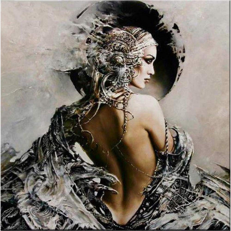 DIY Diamond Painting, Diamond Mosaic, Glamgoldus Queen, Home Decoration, Figure Painting, Unique Gift,45x60cm