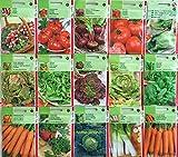 Lot de 20 sachets de graines potagers, différentes, jardin ouvrier, pas cher, économique