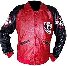 Fashion Club Red Varsity Stylish Leather Jacket