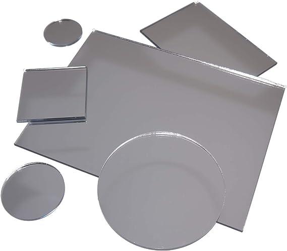 Acryl-Spiegel//Plexiglas-Spiegel 3mm XT 80 x 30 cm