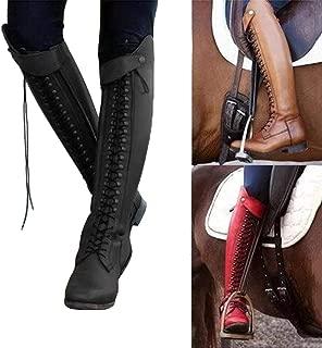 Bottines Femme À Enfiler Bas Talons Hauts Cuissardes Overknee Bottes Chaussures De Loisirs Bloc Talons plus Sz
