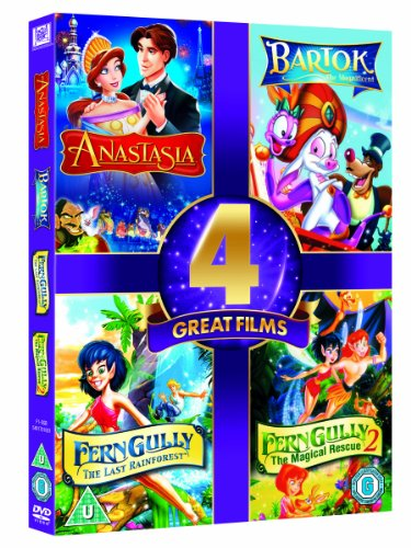 Anastasia / Bartok the Magnificent / Ferngully / Ferngully 2 (4 Dvd) [Edizione: Regno Unito] [Reino Unido]