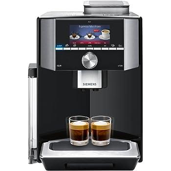 Siemens TI915539DE - Cafetera (Independiente, 2,3 L, Granos de café, De café molido, Molinillo integrado, 1500 W, Negro): Amazon.es: Hogar