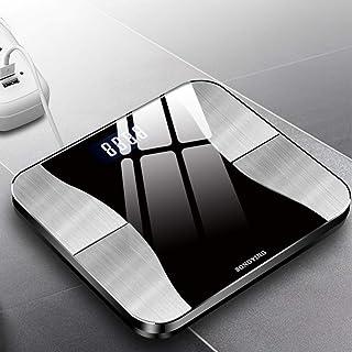 Báscula de pesaje, báscula Inteligente de Grasa Corporal, Carga USB, pesaje doméstico, báscula de pesaje de Salud, Monitor Bluetooth, Pantalla LED