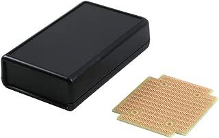 KIT-1593Q Box+PCB, Black ABS Plastic Box with Batt. Compartment, with PR1593Q PCB, Box = 4.4 x 2.6 x 1.1 in