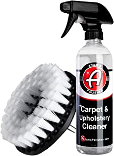 Adam's Carpet Drill Brush Combo - A Cleaning Tool Attachment for Scrubbing/Cleaning Carpet, Upholstery, Leather Seats & Ch...