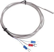 JENOR Term/ómetro K-Type M6 Sonda Termopar Sensor Industrial de Alta Temperatura Compuesto Medidor Comprobador Digital LED Pantalla 0.5m Cable