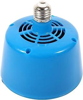 Lámpara de Calor para Mascotas, E27 Bombilla de Calor de Aire Caliente para Mascotas Criadores Lechones Pollo, Funciona Emitiendo Aire Caliente mit Luz Azul
