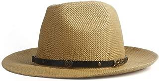 LiWen Zheng Women's Summer Hat Sun Hat 2019 Panama Straw Hat Fedora Beach Holiday Sunhat Wide Casual Summer Sun Hat For Women Hat