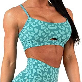 Women's Supportive Sports Bras with Adjustable Straps Yoga Bra Workout Tops for Women