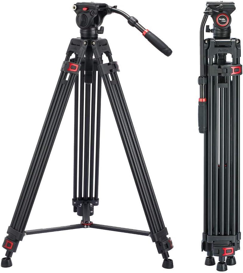 Video Max 64% OFF Tripod Avella VH501 72 Heavy inch Professional Alumi Duty Be super welcome