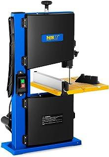 MSW bänkskiva bandsåg MSW-BS350 (350 W, arbetsyta 30 x 30 cm, skärbord lutbar med 45°, skärhöjd: 90 mm, skärbredd: 233 mm)