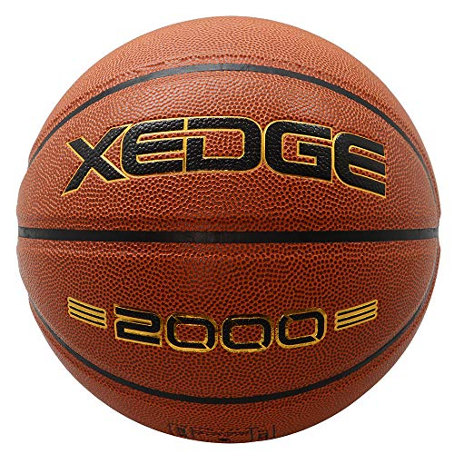 %5 OFF! XEDGE Basketballs 29.5 inches Basketball Official Size for Indoor Outdoor Play (Red, Size 7)