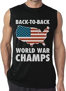 back to back world war champs sleeveless