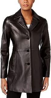 Anne Klein Blazer Leather Jacket