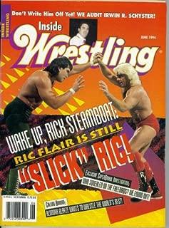 Inside Wrestling Magazine : Wake Up Rick Steamboat - Ric Flair is Still Slick Ric (June 1994)