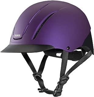 Troxel Spirit Violet Duratec Horse Riding Western Helmet Low Profile Adjustable