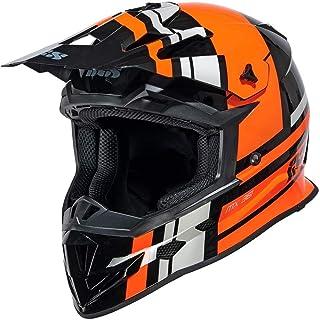 IXS 361 2.3 Motocross Helm Schwarz Matt/Orange XL 61/62