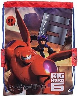 Big Hero 6 Mochila Saco, Color Rojo