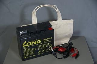 魚探用バッテリー&充電器セット(20000mAh)キャンバス製キャリーバッグ付き