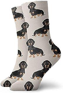 Dydan Tne, Niños Niñas Loco Divertido Wiener Tela para Perros Doxie Dachshund Weiner Perro Mascota Perros Calcetines Lindos del Vestido de la Novedad