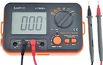 Samyo VC60B+ Digital Insulation Resistance Tester DCV ACV Meter Megger Megohmmeter MegOhm