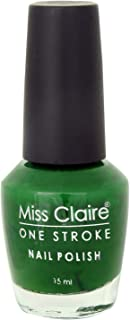 Miss Claire One Stroke Nail Polish 3, Green, 15 ml