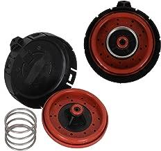 2PCS Crankcase Vent Valve PCV Valve 11127547058 Pressure Regulating Valve Cover Fits 2006-2010 BMW 550I 2004-2005 BMW 645CI 2006-2010 BMW 650I Vacuum Control Valve 14506018001