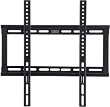 Caprigo Universal Heavy Duty TV Wall Mount Bracket for 26 to 55 inches LED/LCD/HD/4K/QLED TV, Fixed TV Wall Stand (Black : M453)