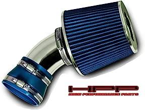 High Performance Parts Short Ram Air Intake Kit & Blue Filter Combo Compatible for 2006-2007 Chevrolet Malibu / 2006-2009 Pontiac G6 3.9L V6 Engine