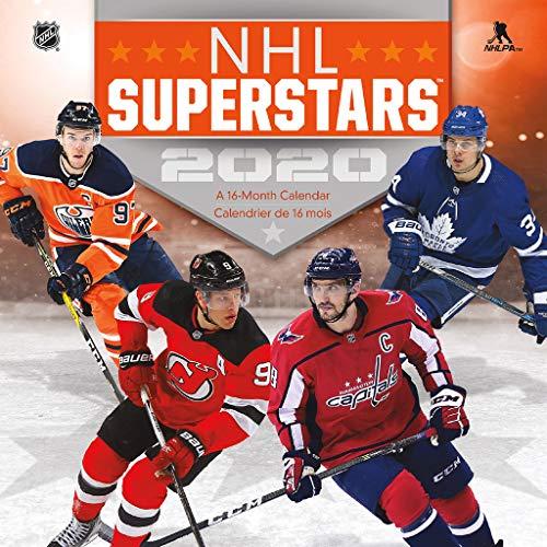 NHL Superstars 2020 Calendar