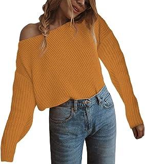 6b8446f19 Amazon.fr : Femme nue - Jaune / Pulls, Gilets & Sweat-shirts / Femme ...