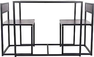 Table de Salle de Repos Robuste Table à Manger de Style Industriel Moderne, Table de Cuisine Peu encombrante, pour Apparte...