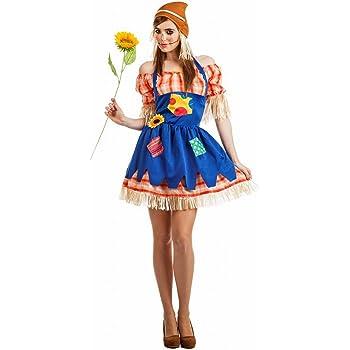 Disfraz de Espantapájaros para mujer: Amazon.es: Juguetes y juegos