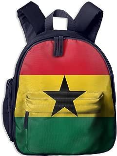 Pinta Flag of Ghana Cub Cool School Book Bag Backpacks for Girl's Boy's