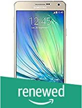 (Renewed) Samsung Galaxy A7 SM-A700FD (Gold)