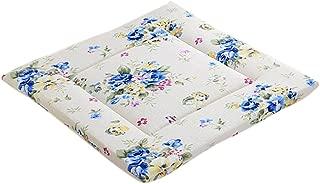 6 Gartenpolster Hochlehner Sessel Auflagen Polster Kissen Sitzkissen Blume taupe