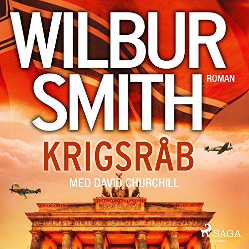 Krigsråb audiobook cover art