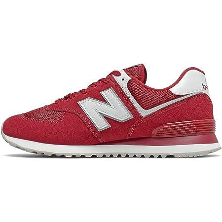 New Balance Herren 574 Core Plus Pack Sneaker, Scarlet, 45.5 EU
