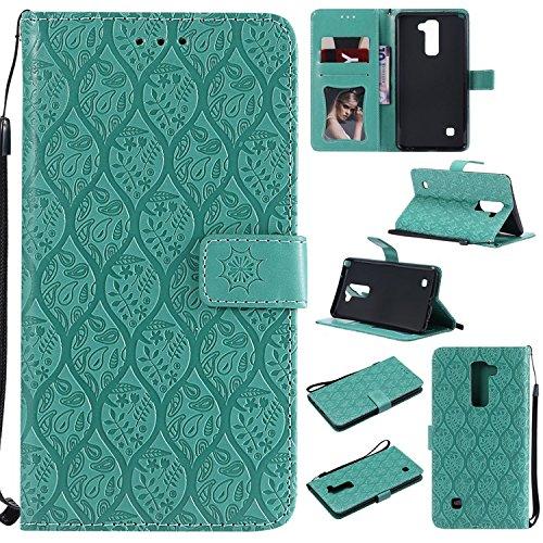 Guran PU Leder Tasche Etui für LG Stylus 2/Stylus 2 Plus 5.7