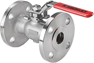 """Keckley Company BVF1RF2RSSRGSL-050 BVF1 Ball Valves, 150 Flanged Cast Stainless Steel Reduced Port, 0.5"""" ID"""