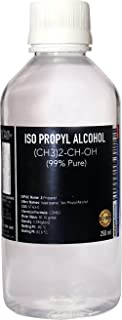 ISO PROPYL ALCOHOL 99% Pure [(CH3)2-CH-OH] CAS: 67-63-0 (250ml)