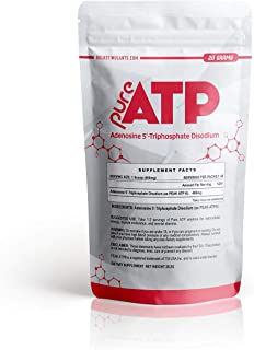 Pure ATP: Adenosine Triphosphate Powder | Intracellular Energy | Brain and Muscle Endurance | 20 Grams
