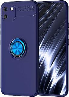 حافظة FanTing لـ Realme C11، 360 درجة قابلة للتعديل، متوافق مع حامل سيارة مغناطيسي، غطاء مقاوم لزال ل ل Realme C11 - Realm...