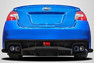 Brightt Carbon Creations ED-EAN-914 VRS Rear Diffuser - 3 Piece Body Kit - Compatible With WRX 2015-2018