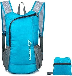 HighlifeS Travel Bag Outdoor Waterproof Folding Fashion Backpack School SatchelTravel Sport Hiking Laptop Bag (Sky Blue)