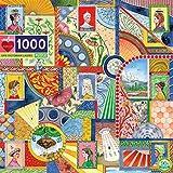 Rompecabezas para Adultos 1000 Piezas Juego de desafío para niños y Adultos Varias imágenes de ovnis 50x75cm