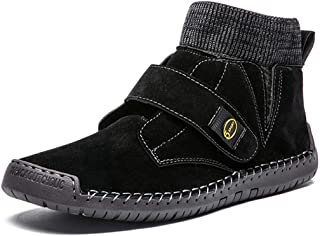 XIALIUXIA Léger Chaussures Homme, Respirant Antidérapant Sport Sneakers Confortable Conduite Chaussures Plates Mode