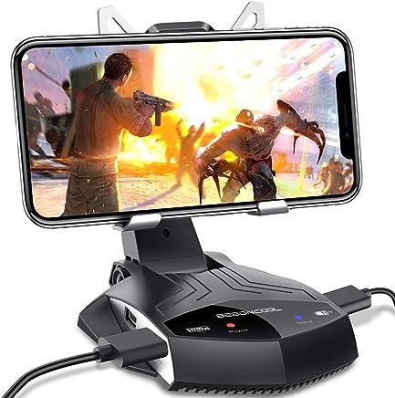 DinoFire スマホ コントローラー ゲーミングキーボード&マウスコンバーター スマホ タブレット Android/iphone PUBG 荒野行動対応