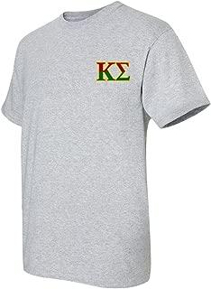 VictoryStore Apparel - Kappa Sigma, Crest and Greek Letter Standard T-Shirt